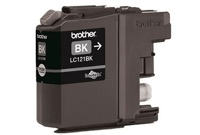 Brother LC-121 Black Ink Cartridge LC121BK