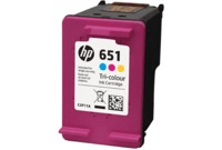 HP 651 Color Ink Cartridge C2P11AE