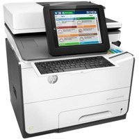 למדפסת HP PageWide Enterprise Color Flow MFP 586