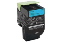 טונר כחול 808HC מק״ט לקסמרק Cyan Toner Cartridge for Lexmark  80C8HC0