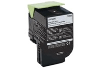 Lexmark 808HK Black Toner Cartridge 80C8HK0