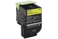 Lexmark 808SY Yellow Toner Cartridge 80C8SY0