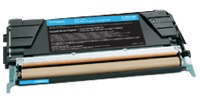 טונר כחול למדפסת לקסמרק Cyan Toner Cartridge for Lexmark  C746A1CG
