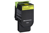 Lexmark 71B50Y0 Yellow Toner Cartridge 715Y